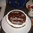 Brandon's Birthday Cake