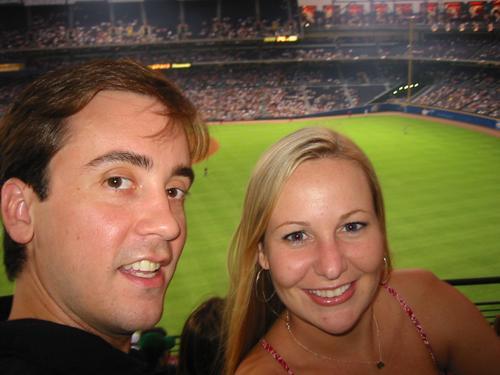 Brandon & I again